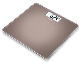 Фото 1 к товару Весы стеклянные Beurer GS 212 Toffee