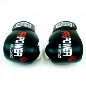 Фото 2 к товару  Перчатки боксерские Firepower FPBG2 черные