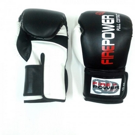 Фото 3 к товару  Перчатки боксерские Firepower FPBG2 черные
