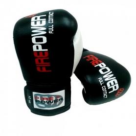 Фото 4 к товару  Перчатки боксерские Firepower FPBG2 черные