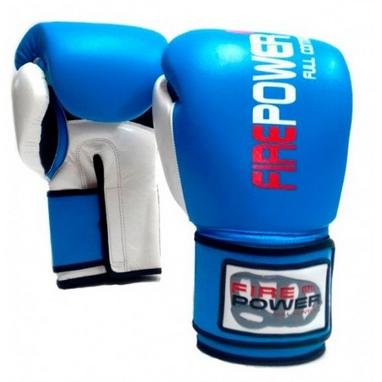 Перчатки боксерские Firepower FPBG2 синие
