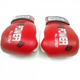 Фото 4 к товару  Перчатки боксерские Firepower FPBG2 красные