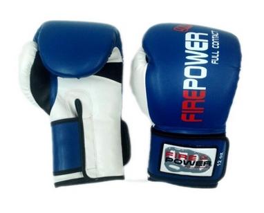 Перчатки боксерские Firepower FPBGA2 синие