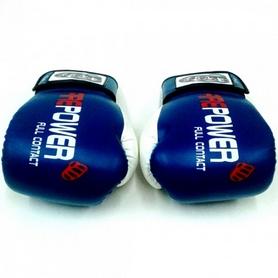 Фото 4 к товару  Перчатки боксерские Firepower FPBGA2 синие