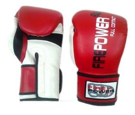 Перчатки боксерские Firepower FPBGA2 красные
