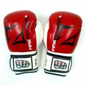 Фото 2 к товару  Перчатки боксерские Firepower FPBGA3 красные