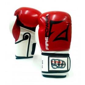 Фото 1 к товару  Перчатки боксерские Firepower FPBGA3 красные