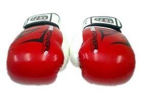 Фото 3 к товару  Перчатки боксерские Firepower FPBGA3 красные