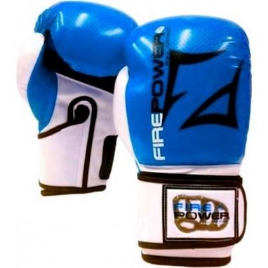 Перчатки боксерские Firepower FPBGA3 синие