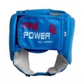 Фото 3 к товару Шлем для соревнований Firepower FPHG2 синий