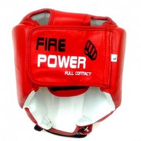 Фото 3 к товару Шлем для соревнований Firepower FPHG2 красный