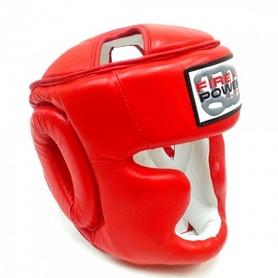Шлем тренировочный Firepower FPHG3 красный