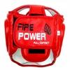 Шлем тренировочный Firepower FPHG3 красный - фото 2