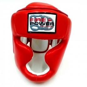 Фото 4 к товару Шлем тренировочный Firepower FPHG3 красный