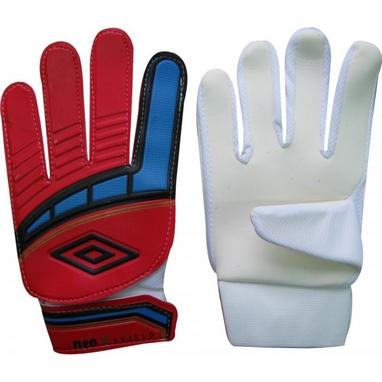 Перчатки вратарские Umbro FB-838 красно-белые
