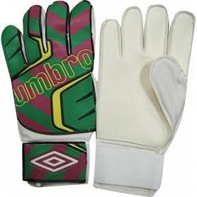 Перчатки вратарские Umbro FB-840 зелено-бордовые