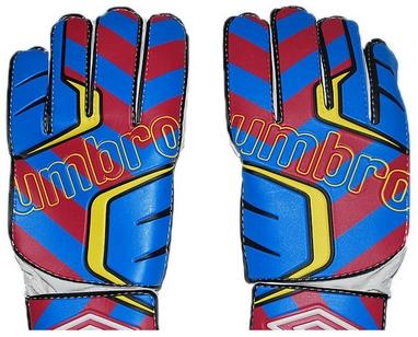 Перчатки вратарские Umbro FB-840 сине-бордовые