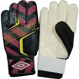 Перчатки вратарские Umbro FB-840 черно-бордовые
