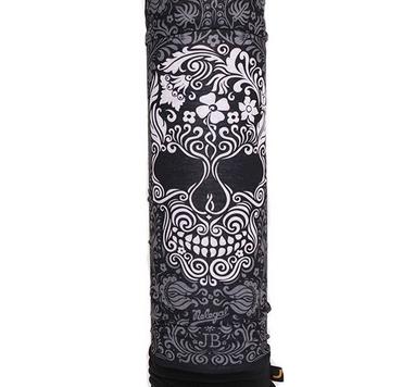 Головной убор зимний многофункциональный (Бафф) 5000 Miles Flower Skull
