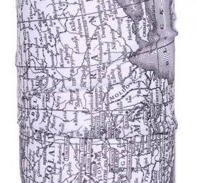 Фото 3 к товару Головной убор зимний многофункциональный (Бафф) 5000 Miles Map