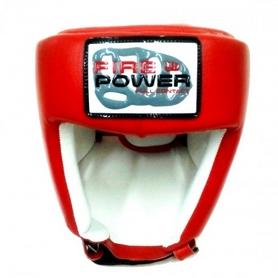 Фото 2 к товару Шлем для соревнований Firepower FPHGA2 красный
