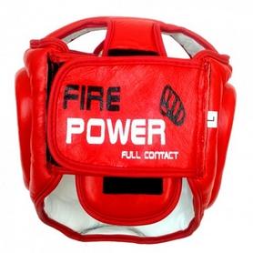 Фото 2 к товару Шлем тренировочный Firepower FPHGA3 красный
