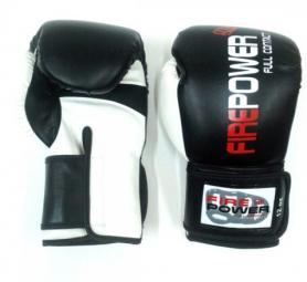 Перчатки боксерские Firepower FPBGA2 черные