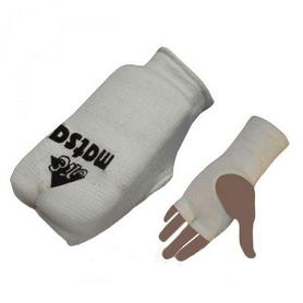 Накладки (перчатки) для карате Matsa MA-0009-W белые - S