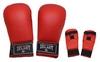 Накладки (перчатки) для карате ZLT ZB-4007-B красные - фото 1