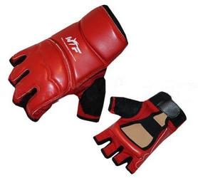 Накладки (перчатки) для тхэквондо ZLT BO-2016-R WTF красные - XL