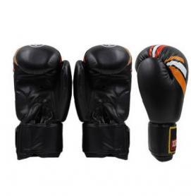 Фото 2 к товару Перчатки боксерские ZLT ZB-4276-BK черные