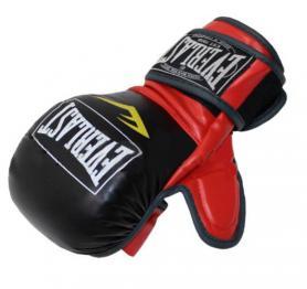 Фото 1 к товару Перчатки для смешанных единоборств MMA Everlast BO-4612-BKR черно-красные