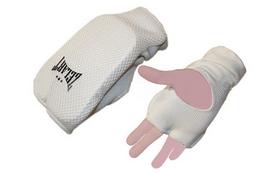Накладки (перчатки) для карате ZLT ZB-6128 белые
