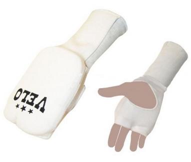 Накладки (перчатки) для карате Velo ULI-10019 белые
