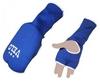 Накладки (перчатки) для карате Velo ULI-10019 синие - фото 1