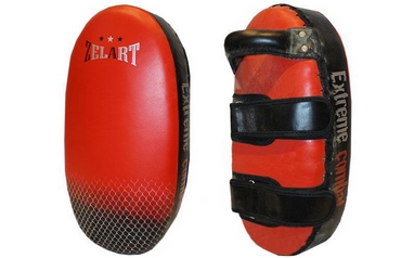 Пэда (тай-пэд) прямая ZLT ZB-6154 черно-красная