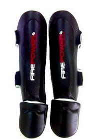 Фото 1 к товару Защита ног (голень+стопа) Firepower FPSG3 Black