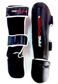 Фото 2 к товару Защита ног (голень+стопа) Firepower FPSG3 Black