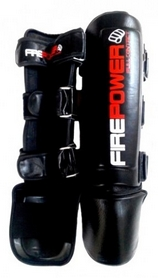 Защита ног (голень+стопа) Firepower Max Pro L FPSG5 Black - XL