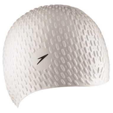 Шапочка для плавания Speedo Bubble Cap white