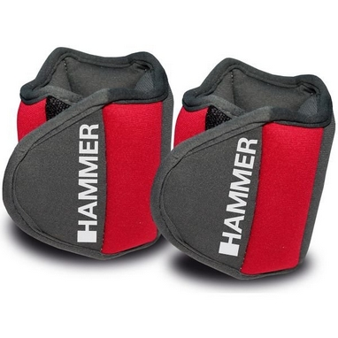 Утяжелители 2 шт по 0,5 кг Hammer Wrist Sleeve