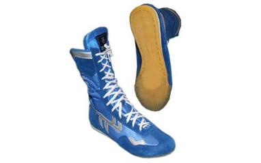 Боксерки замшевые OB-3206B синие
