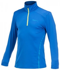 Фото 1 к товару Пуловер мужской Craft Lightweight Stretch Pullover M royal/ocean/scream