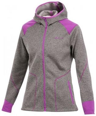 Толстовка Craft Warm Hood Jacket W metal/orchid