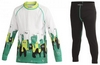 Комплект термобелья детского Craft Active Multi 2P J black/alp green print - фото 1