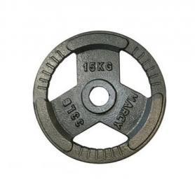 Диск олимпийский 15 кг Marcy с хватами - 51 мм