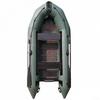 Лодка надувная моторная килевая Aquastar K-430 зеленая - фото 1