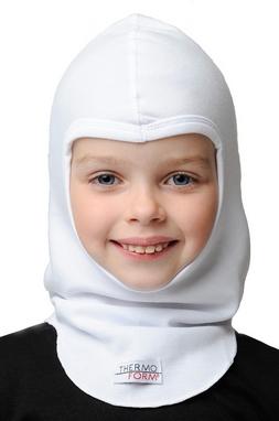 Шапка-маска детская Thermoform 1-016 белая