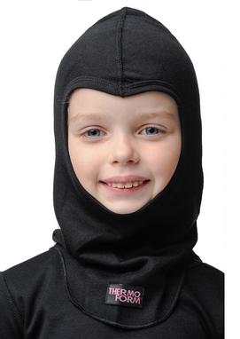 Шапка-маска детская Thermoform 1-016 черная