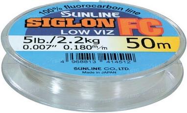 Флюорокарбон Sunline SIG-FC 50 м 0.445 мм 12 кг поводковый
